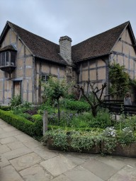 Shakespeare's childhood home