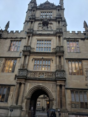 Four floors of the College of Architecture (each using different distinct styles of pillars and pictured closely in the following pictures). If you were a student at Oxford, would YOU believe to identify your columns? Which one is which?