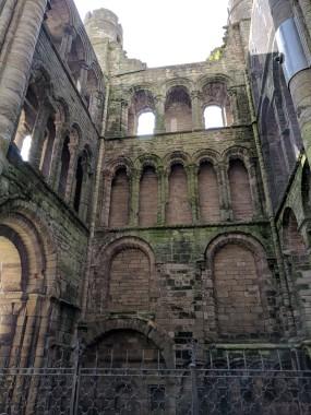 Kelso Abbey, built 1113