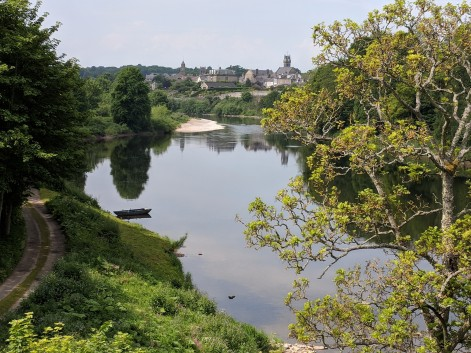 A beautiful view of the River Tweed