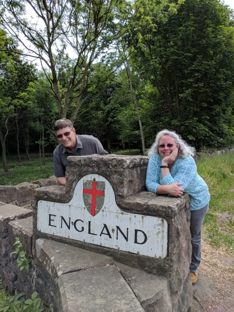 Entering England from Scotland