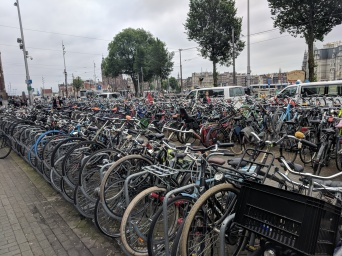 The Netherlands, land of bikes