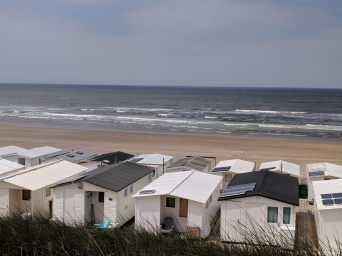Vacation homes on the shores of the North Sea