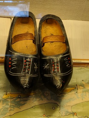 This was the shoe designed around our friend Jessica's ancestors' village in the north.