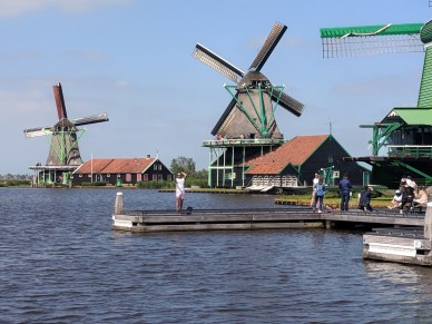 Windmills are used to do many kinds of work.