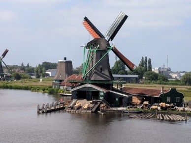 This is a logging windmill.