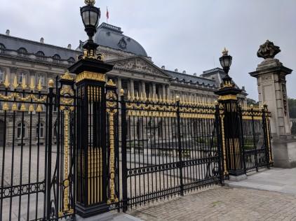 Gates to the Royal Palace