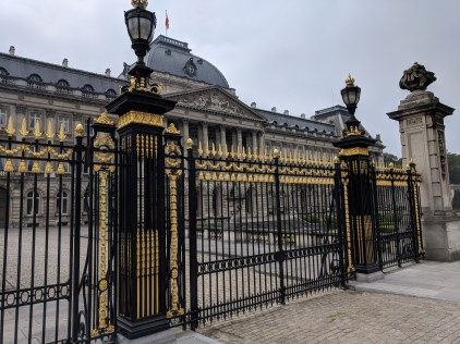 Gates to the Royal Palace