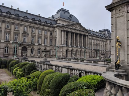 The palace of Belgium's King and Queen