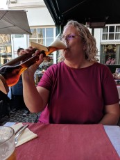 Try some Kwak, but don't pronounce it wrong or people will worry!
