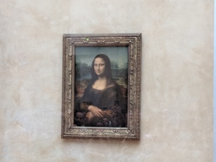 The Mona Lisa, Live and in Person!