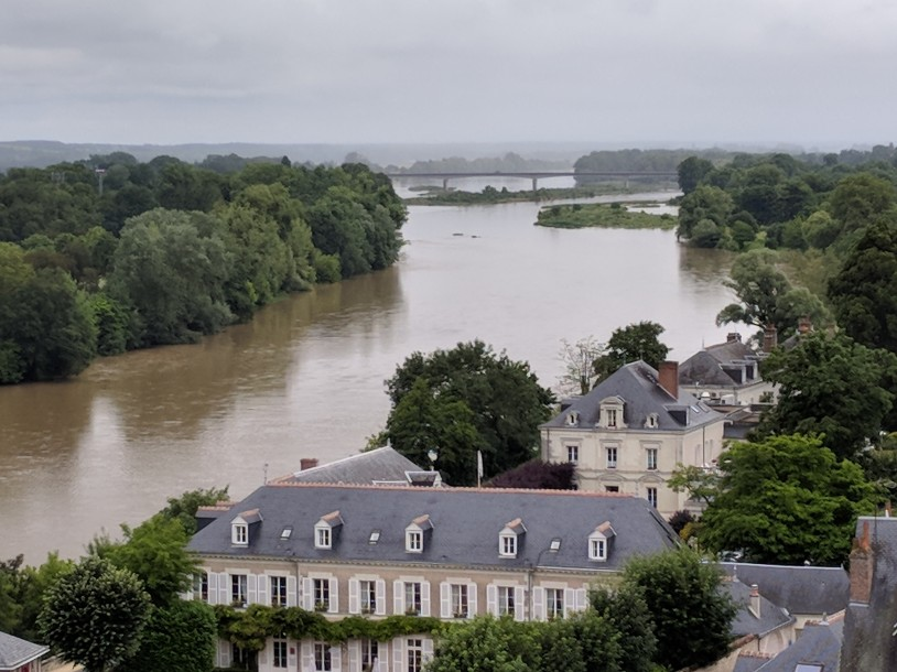 The view of Chateau D'Amboise