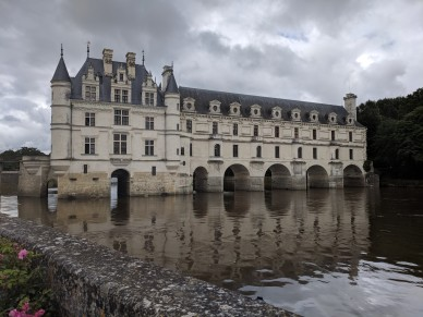 Chateau Chenonceau over the River Cher