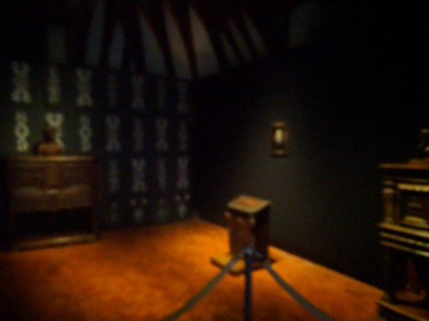 Catherine de Medici painted her bedroom black in mourning for her husband.