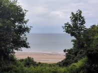 A view of the Atlantic Ocean from Omaha Beach