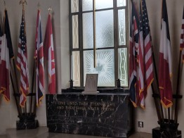 The chapel at the American Cemetery