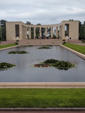 The American memorial at Omaha Beach