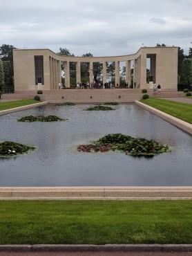 The American memorial at Omaha Beach