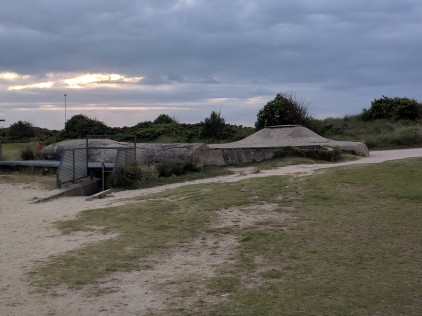 German bunker on Juno Beach