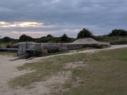German bunker on Juno Beach