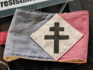 Cross de Lorraine: Taken as the symbol for the French Resistance in answer to the German swastika.