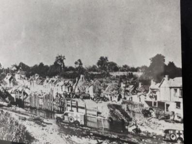 St. Mere Eglise during World War II
