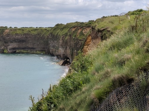 The Germans never expected an attack from these cliffs. Would you?