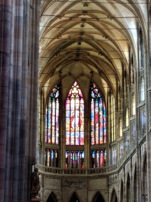 Inside St. Vitrus Cathedral