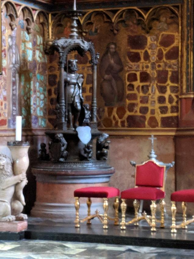 Statue of King Wencaslas, King of Bohemia...Sound familiar?