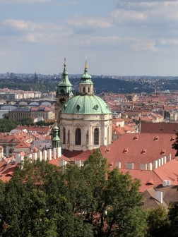View of Prague, known as the City of 100 Spires