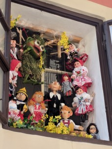 Prague is known for their marionettes. I wanted SO badly to bring one home.