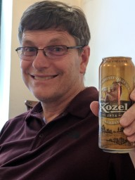 Bill's favorite Czech beer...no offense, Budweiser.