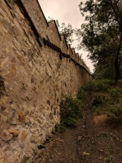 A remnant of the ancient wall around the city