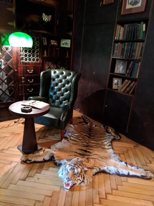 Jan Zabinski's office