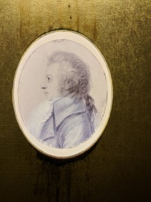 This portrait of Mozart was done only 2 1/2 years before his death.