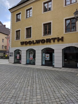 We knew the city was ancient, but it had a Woolworth! If you don't know what that is, you're NOT ancient.