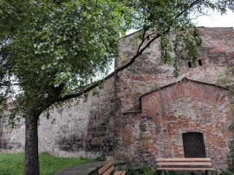 Part of the Memmingen city wall