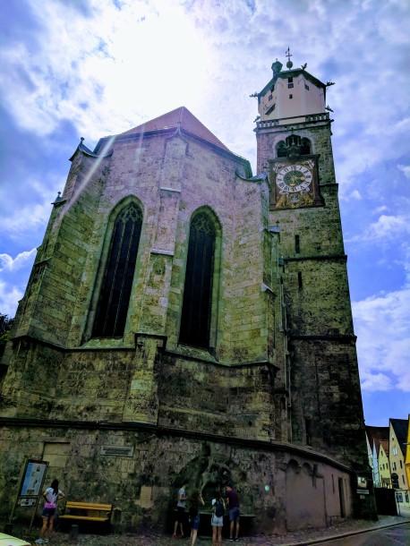 St. Martin's Church, built in 1490