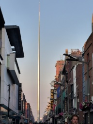 This spire marks the centerpointe of Dublin