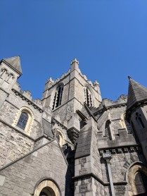 Christ Church, a gothic cathedral in downtown Dublin