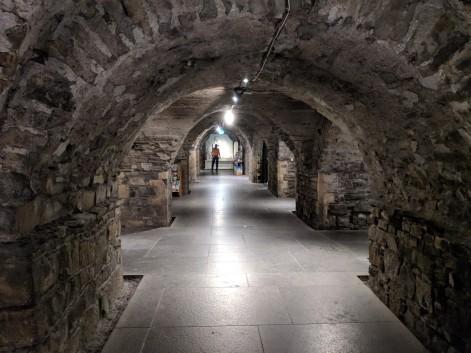 The crypt underneath Christ Church