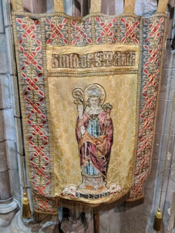The banner of St. Patrick