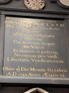 Jonathon Swift wrote his own epitaph