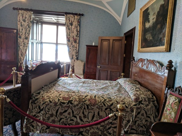 Typical bedroom at Kilkenny.