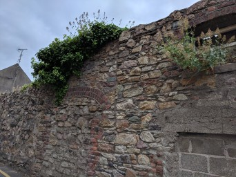 Part of the old Wexford City Wall