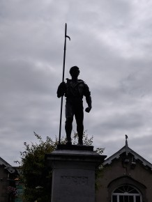 A memorial to Irishmen who died in World War I