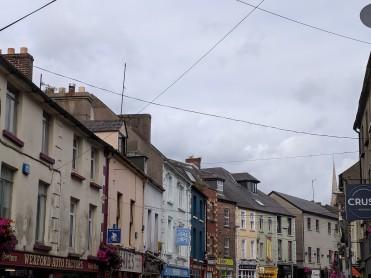 A city street in Enniscorthy