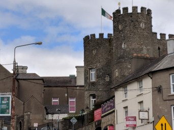 As you can see, Enniscorthy Castle is right in the middle of a bustling town.