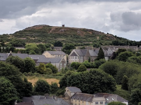 Vinegar Hill, where one of the battles of the Irish rebellion took place in 1798 against British forces