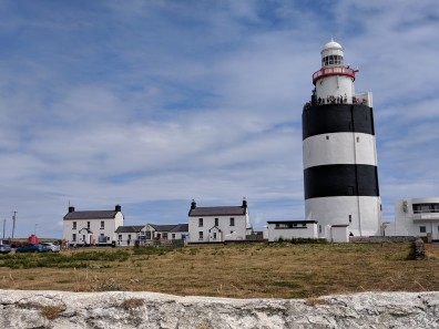 Hook lighthouse, lightkeeper's house, and lightkeeper's assistant's house